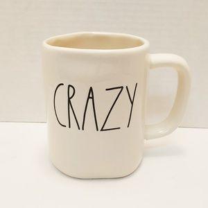 """Rae Dunn LL """"CRAZY"""" Mug"""